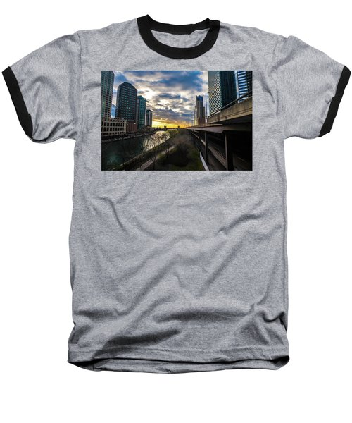 Chi Sunrise 2 Baseball T-Shirt