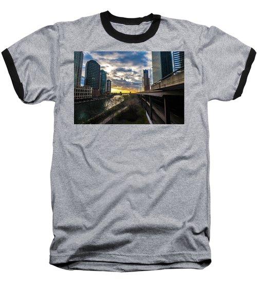 Chi Sunrise 2 Baseball T-Shirt