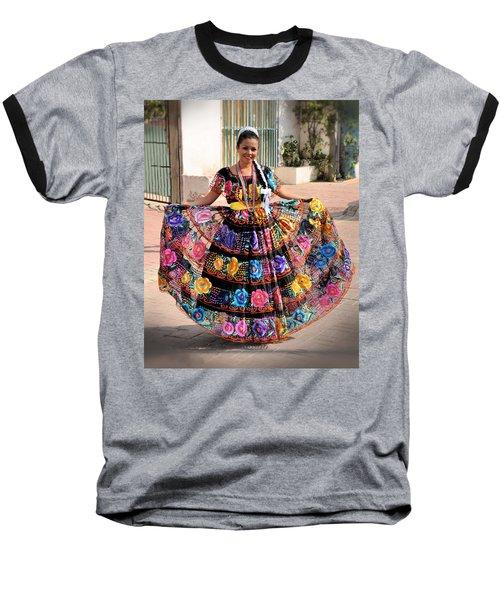 Chiapaneca Dress Baseball T-Shirt
