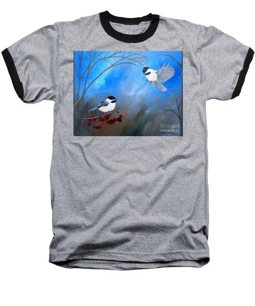 Chickadees  Baseball T-Shirt