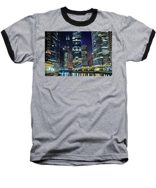 Chicago Towers 2017  Baseball T-Shirt