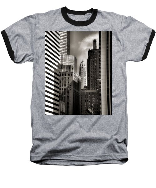 Chicago Architecture - 13 Baseball T-Shirt
