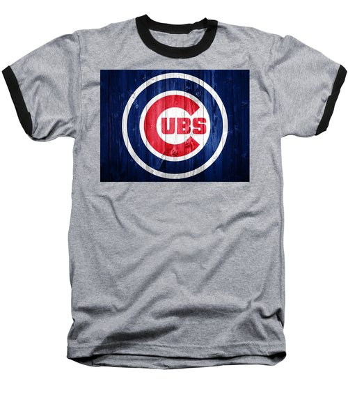 Chicago Cubs Barn Door Baseball T-Shirt by Dan Sproul