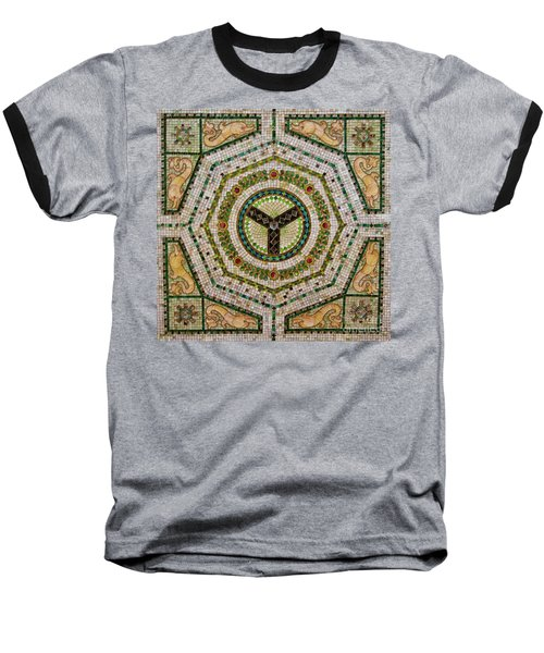 Chicago Cultural Center Ceiling Baseball T-Shirt