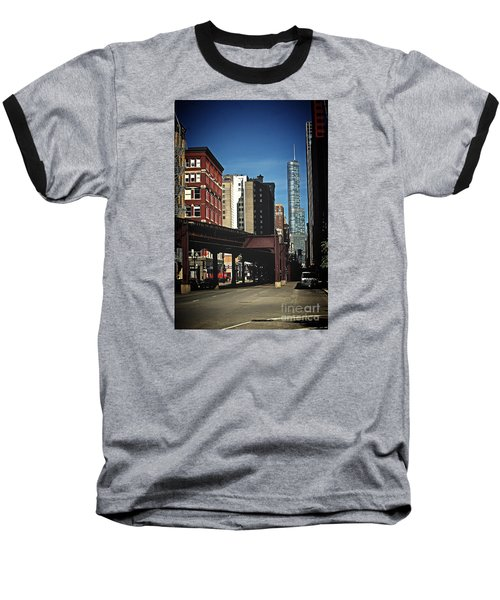 Chicago L Between The Walls Baseball T-Shirt