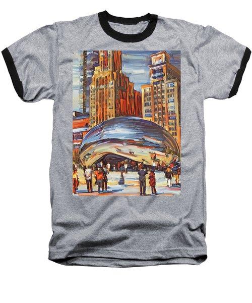 Chicago Millennium 2 Baseball T-Shirt