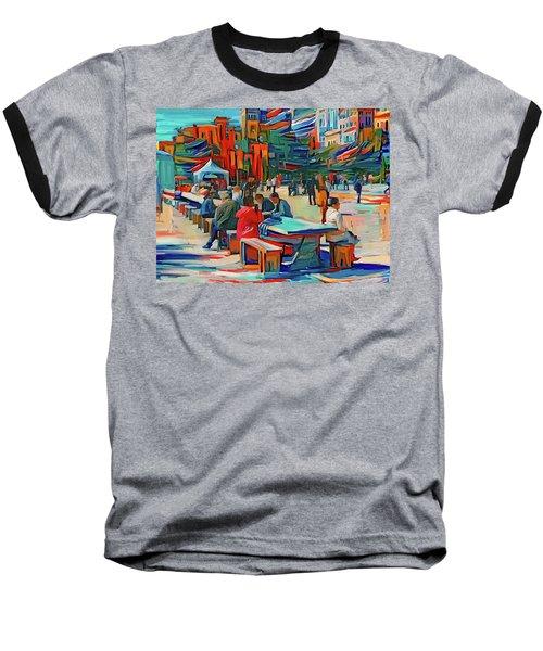 Chicago Millennium Sunday Baseball T-Shirt
