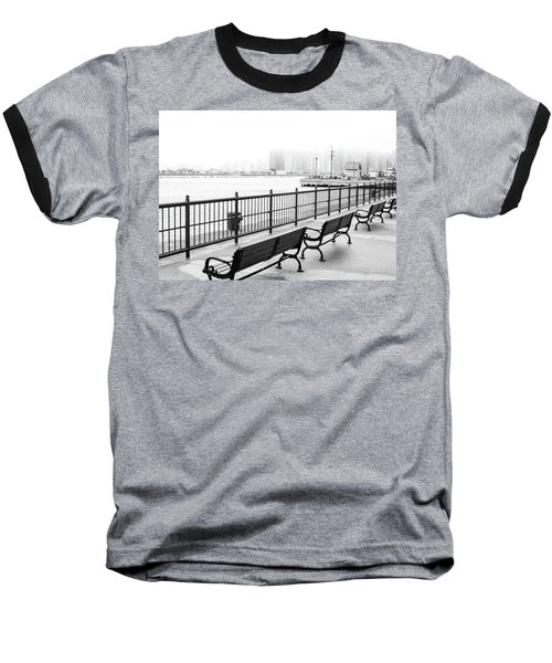 Chicago Navy Pier Baseball T-Shirt
