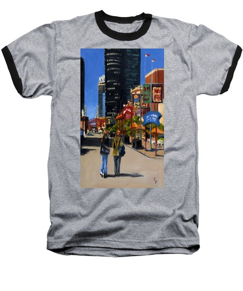 Chicago - Navy Pier Baseball T-Shirt