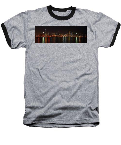 Chicago Panoramic Baseball T-Shirt