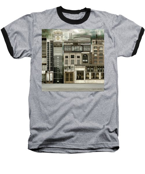 Chicago Reconstruction 2 Baseball T-Shirt by Joan Ladendorf