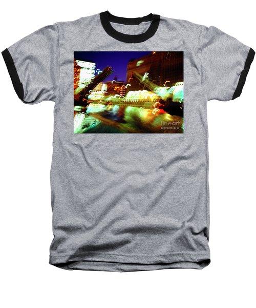 Chicago River Bridge #1  Baseball T-Shirt