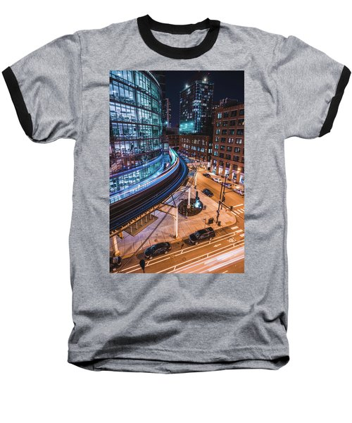 Chicago S Train Baseball T-Shirt