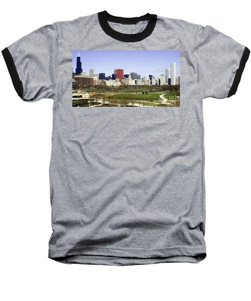 Chicago- The Windy City Baseball T-Shirt