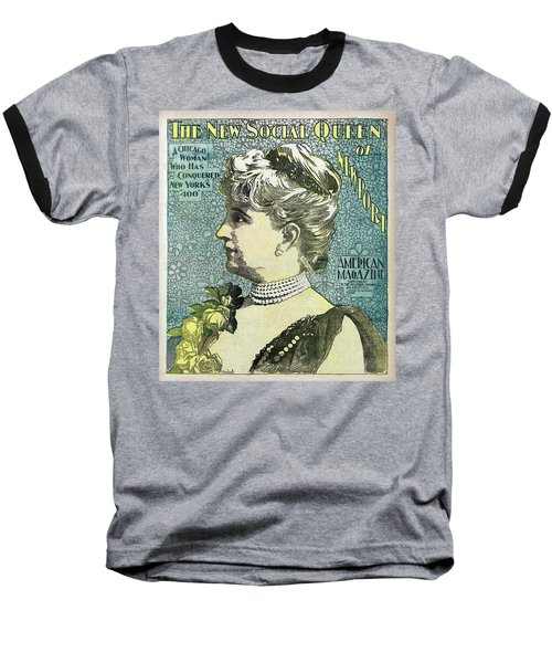 Baseball T-Shirt featuring the photograph Chicago Woman Conquers New York's 400  1898 by Daniel Hagerman