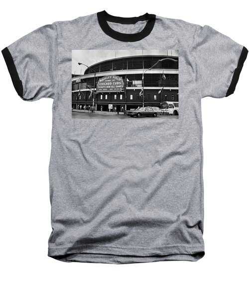 Chicago: Wrigley Field Baseball T-Shirt