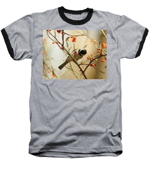 Chickadee 1 Of 2 Baseball T-Shirt