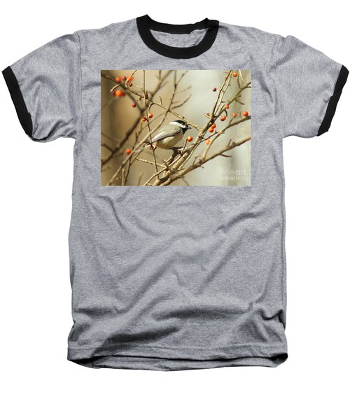 Chickadee 2 Of 2 Baseball T-Shirt