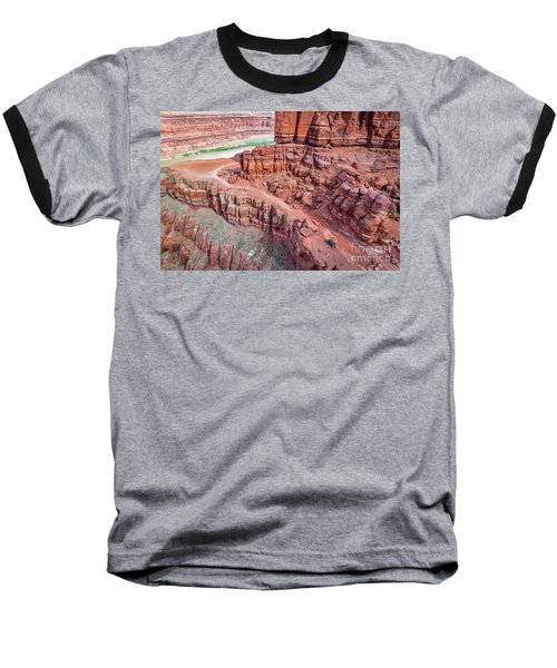Chicken Corner Trail And Colorado River Baseball T-Shirt