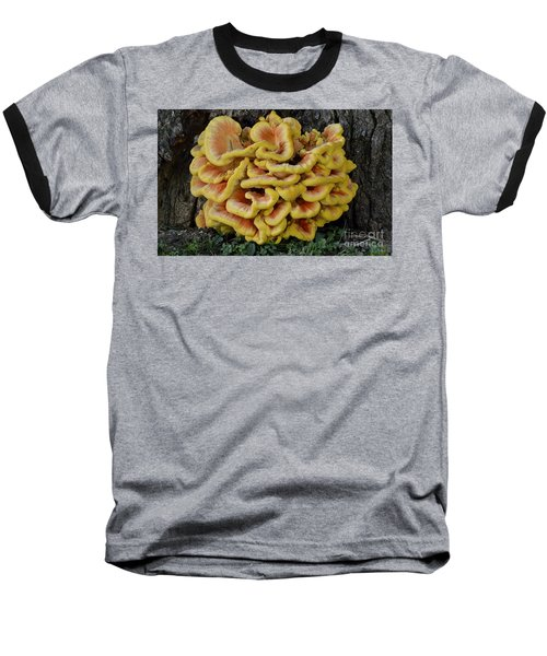 Chicken Of The Woods Baseball T-Shirt
