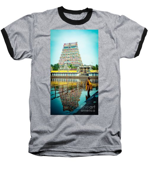 Chidambaram Temple Lord Shiva India Baseball T-Shirt