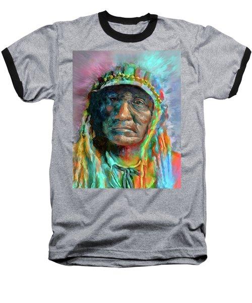 Chief 2 Baseball T-Shirt by Rick Mosher