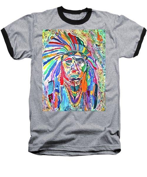 Chief Joseph Of The Nez Perce Baseball T-Shirt