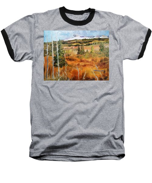 Chief Mountain Baseball T-Shirt by Larry Hamilton