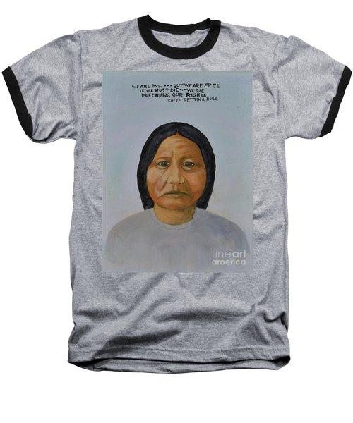 Chief Setting Bull Baseball T-Shirt