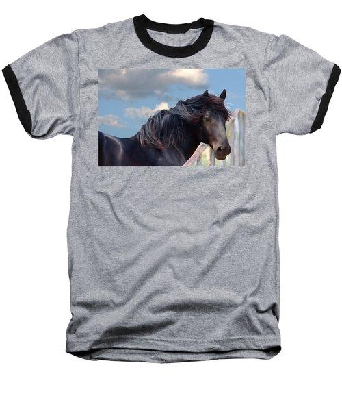 Chief - Windy Portrait Series 1 - Digitalart Baseball T-Shirt