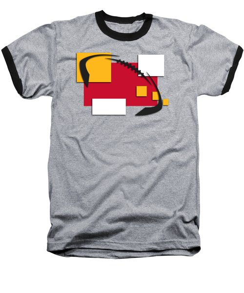 Chiefs Abstract Shirt Baseball T-Shirt by Joe Hamilton