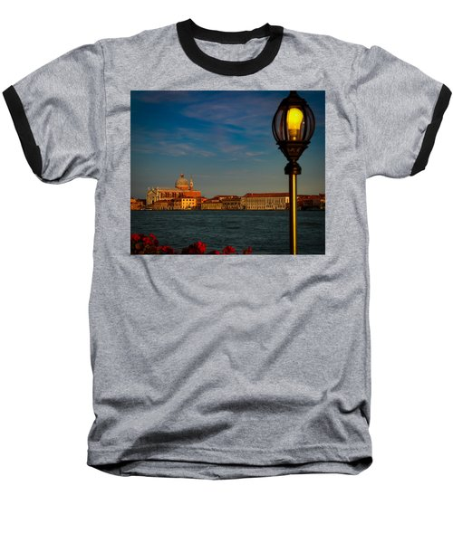 Baseball T-Shirt featuring the photograph Chiesa Del Santissimo Redentore by Kathleen Scanlan