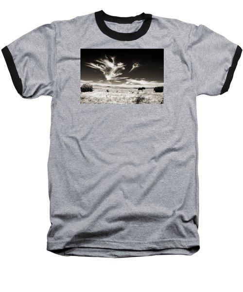 Chihuahuan Desert In Sepia Baseball T-Shirt