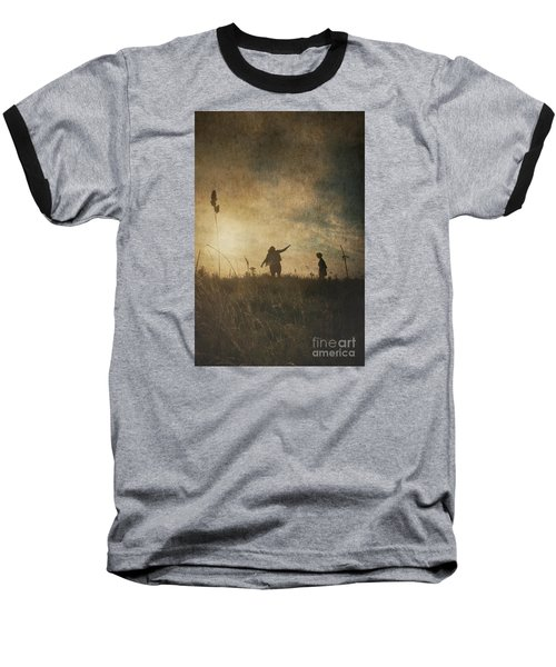 Children Playing Baseball T-Shirt