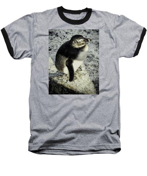 Chillypenguin Baseball T-Shirt by Chris Boulton