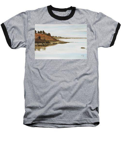 Chilmark Mv Stonewall Pond Baseball T-Shirt