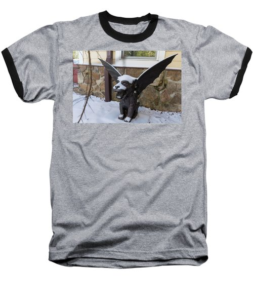 Chimera In The Snow Baseball T-Shirt