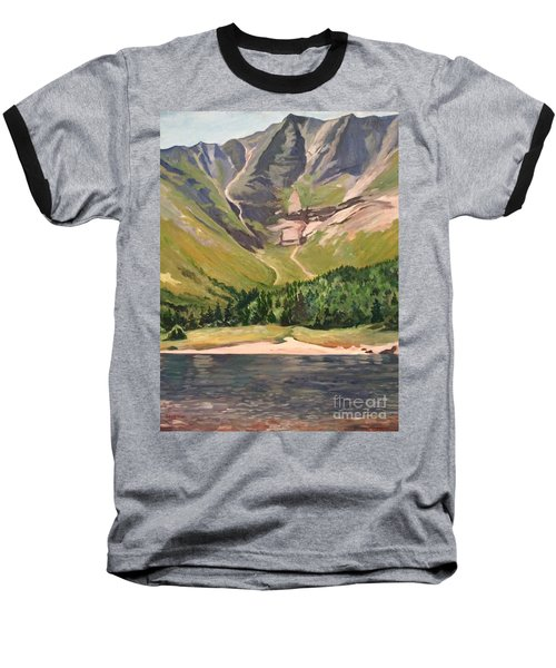 Chimney Pond At Katahdin Basin Baseball T-Shirt