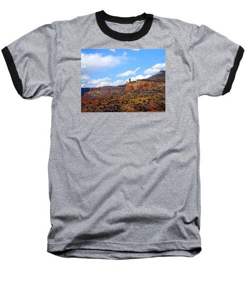 Chimney Rock Ghost Ranch New Mexico Baseball T-Shirt