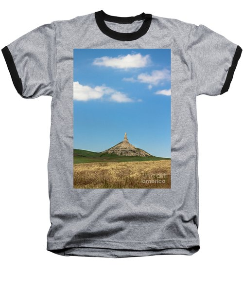 Chimney Rock Nebraska Baseball T-Shirt