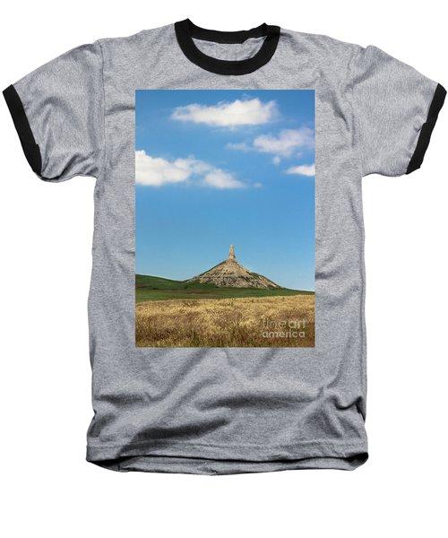 Chimney Rock Nebraska Baseball T-Shirt