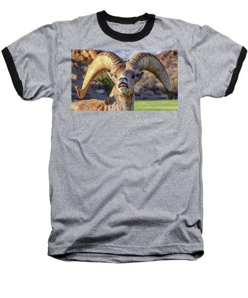 Chin Down Baseball T-Shirt