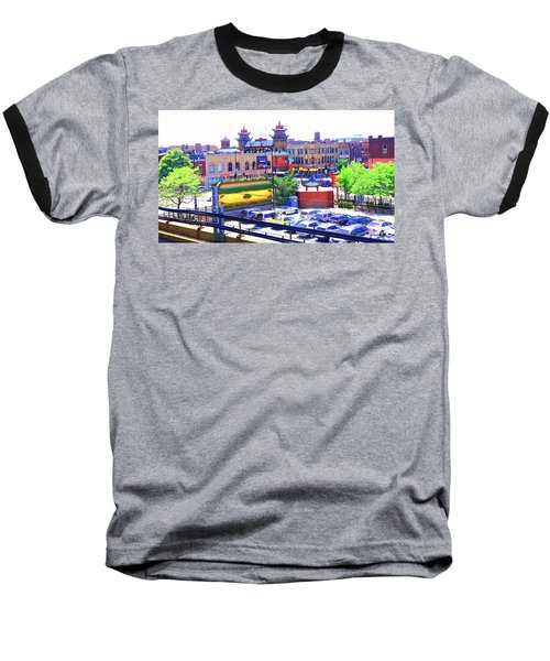 Chinatown Chicago 1 Baseball T-Shirt
