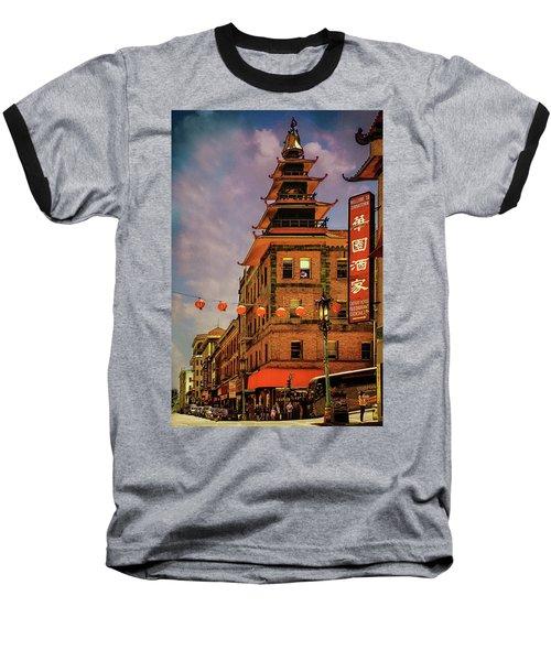 Chinatown San Francisco Baseball T-Shirt