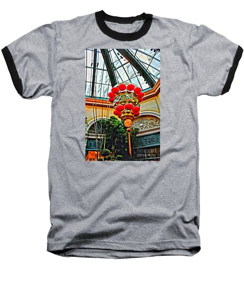 Chinese Lantern Baseball T-Shirt