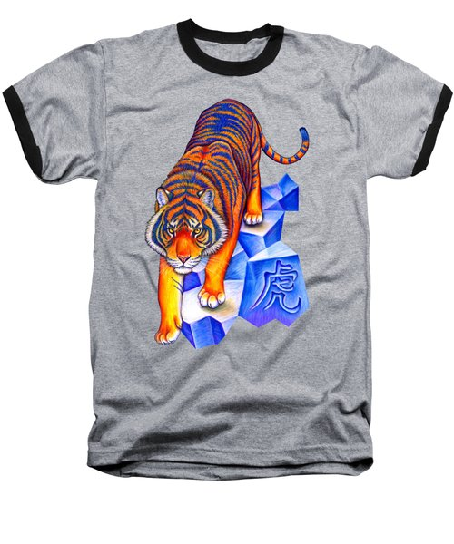 Chinese Zodiac - Year Of The Tiger Baseball T-Shirt
