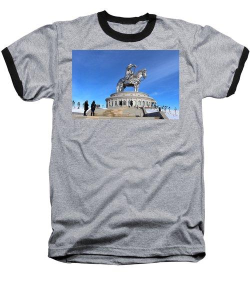 Chinggis Khan Statue/tsagaan Sar Baseball T-Shirt