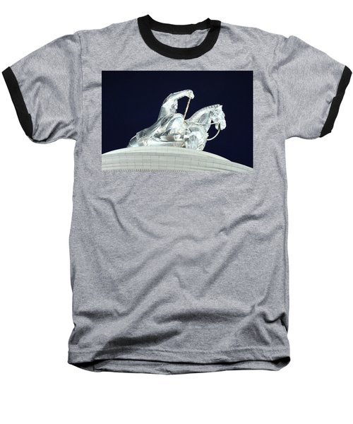 Chinggis Khan/tsagaan Sar Baseball T-Shirt