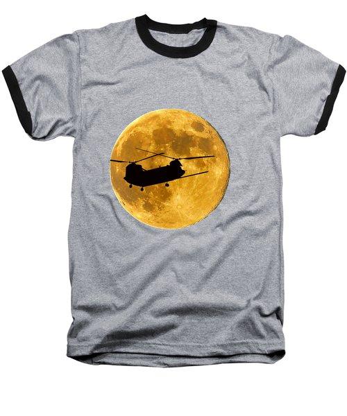 Chinook Moon Color .png Baseball T-Shirt