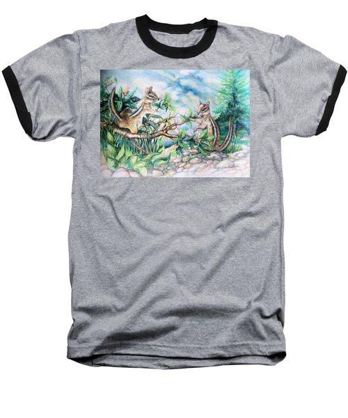 Chipmunk Baseball T-Shirt